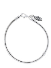 New Authentic Pandora SS Lobster Clasp Bracelet  # 590700HV-18