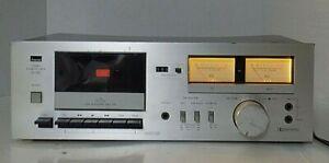 VINTAGE- SANSUI D-90 STEREO CASSETTE DECK PLAYER / RECORDER DOLBY NR