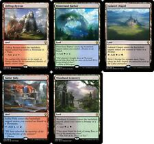 Dominaria DUAL LAND x20 ~mtg NM Sulfur Falls Woodland Cemetery Isolated Chapel +