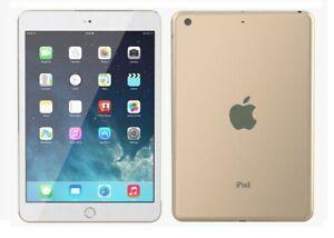 Dummy Display 1:1 Non Working  iPad Mini 3 White Gold Toy Fake  Tablet