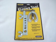 Vintage 1983 GENERAL Flaring Tool No. 155 Unopened in Package Quick Opening Bars