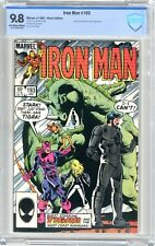 Iron Man  #193  CBCS  9.8  NMMT  Off white to wht pgs West Coast Avengers cover