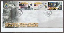 FDC 1st Malaysian Submarine 3.9.2009