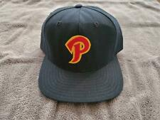 "1980s Peoria Chiefs New Era Snapback Hat w/""7"" Inked Team Issued Game Used (867)"