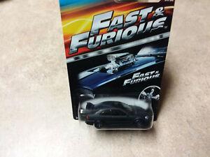 Hot Wheels Fast and Furious HIJACK BLACK CIVIC W/REALRIDERS -CUSTOM-VERY SHARP!!