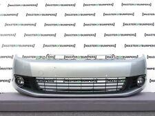 VW Golf MK6 2009-2012 PARAURTI ANTERIORE IN ARGENTO COMPLETO ORIGINALE [ V358 ]