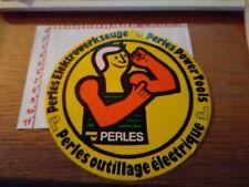 ADESIVO VINTAGE STICKER kleber PERLES  OUTILLAGE ELECTRIQUE POWERTOOLS ELEKTRO
