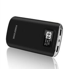 50000mAh Power Bank LCD 2USB LED Externes Zusatzakku Ladegerät Für iPhone XS XR