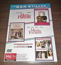 Meet The Parents / Meet The Fockers / The Heartbreak Kid Dvds Brand New & Sealed