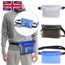 Phone Waterproof Bag Underwater Pouch Waist Belt Pack Swimming Dry Case PVC New