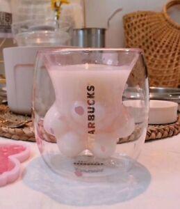 Starbucks Cute Cat's Claw Design Double Wall Tea Cup Coffee Cup Water Mug 250ml