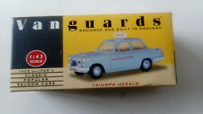Lledo Vanguards VA5001 Triumph Herald Die Cast Model Car BSM Pale Blue 1 43rd