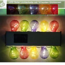 Festival 10LEDs LED Solar Kreativität Kappen Lichterketten für Hochzeit,Party
