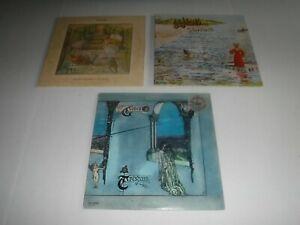 3 Genesis Vinyl LP's - Trespass - Foxtrot - Selling England by the Pound