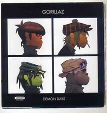 GORILLAZ DEMON DAYS LP ALBUM FRONT COVER POSTER PAGE