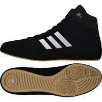 free shipping 2620a 60eb7 Adidas Havoc Kids Wrestling Boots Boxing Shoes Boys Girls Childrens Gym  Trainers