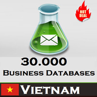 30,000 VIETNAM Company Business Email Database 2020