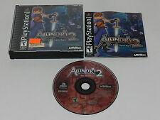 Alundra 2 A New Legend Begins Sony Playstation PS1 Video Game Complete