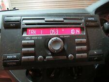 Ford Focus C Max 03-10 6000 reproductor de CD y radio con Código