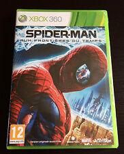"NEUF SPIDER-MAN AUX FRONTIERES DU TEMPS XBOX 360 MARVEL VIDEOGAME FR  ""RARE"""