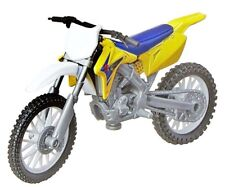 NIB New-Ray Suzuki RM-Z450 dirtbike motorcycle 1:18 diecast model