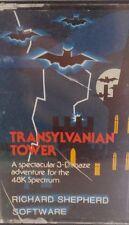 Transylvanian Tower Spectrum 48k (Tape) (Game, Verpackung, Manual)
