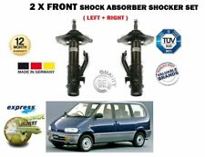 FOR NISSAN SERENA VANETTE 1.6 2.0 2.3 2.0 92-01 2 X FRONT SHOCK ABSORBER SHOCKER