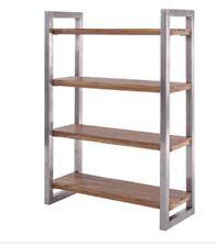 Libreria Scaffale industriale vintage ferro e legno
