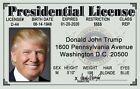 US President Donald Trump beautiful REFRIGERATOR MAGNET US 45th President