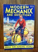 MODERN MECHANIX MAGAZINE DEC 1932 IDEAS FOR MAKING MONEY