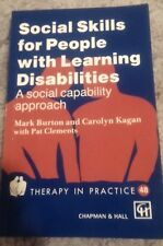MARK BURTON, SOCIAL SKILLS FOR PEOPLE WITH LEARNING DISABILITIES