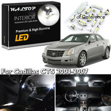 16x White Interior LED Lights Package Kit For 2003 - 2005 2006 2007 Cadillac CTS