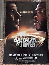 Battle of the Superstars- Calzaghe VS Jones  40 x 27 poster