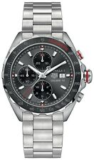 CAZ2012.BA0876 Tag Heuer Formula 1 CAL16 Mens Watch 44mm Black Dial SS NEW