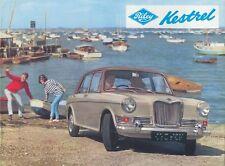Riley Kestrel 1100 February 1966 Original UK Sales Brochure Pub. No. 6549A