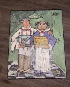 Kirkland's Kitchen Print On Canvas Joanna cigar soirée 8x10