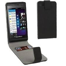 BlackBerry Z10 Fitted Flip Leather Case (Vertical) in Black ALC5862-102 Cellink