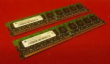 KIT 1GB Infineon hys72t64000hu-3s-a 384704-051 DDR2 Non-ECC Desktop Memory Ram