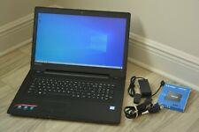 "Laptop Lenovo IdeaPad 17.3"" Intel Core i3-6100U 2.3 GHz 8GB RAM 240GB SSD WIN 10"