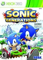 XBOX 360 - SONIC GENERATIONS BRAND NEW SEALED