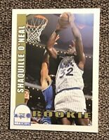 1992-1993 Skybox NBA HOOPS SHAQUILLE O'NEAL ROOKIE CARD #442 SHAQ MINT