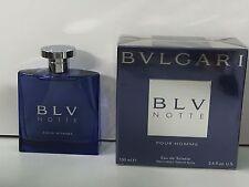Bvlgari BLV Notte Pour Homme EDT 100ml Spray New & Rare