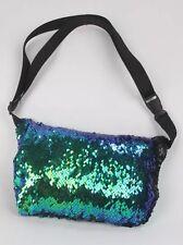 Mermaid Glitter Reversible Sequin Festival Waist Bum Bag Pouch Hip Purse
