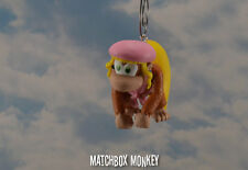 Dixie Kong Custom Christmas Ornament Nintendo Donkey Kong Mario Bros DS Donkey