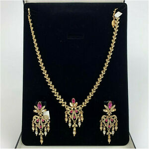 Kyles Crystal Necklace With Earrings Jewelry Sets For Women Wedding Party Prom