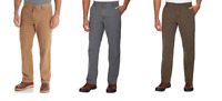 NEW G.H. BASS & CO. MEN'S STRETCH CANVAS TERRAIN PANT - VARIETY