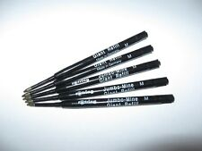 Rotring Kugelschreiber Jumbo-Mine (M) schwarz (5 Stück)  dokumentenecht ANGEBOT