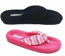 Ladies Slippers Grosby or Bliss Summer Slipper Thongs Size S-XL 3 Colours NEW