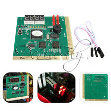 4 Digit LED Analysis Diagnostic Tester POST Card PCI PC Analyzer Motherboard