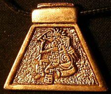 AZTEC ASTROLOGY - OZOMATLI (the Monkey) gold color